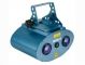 BLUE SKY LED LASER 40MW GRØN +